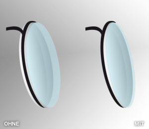 Ultraleichtes Glas